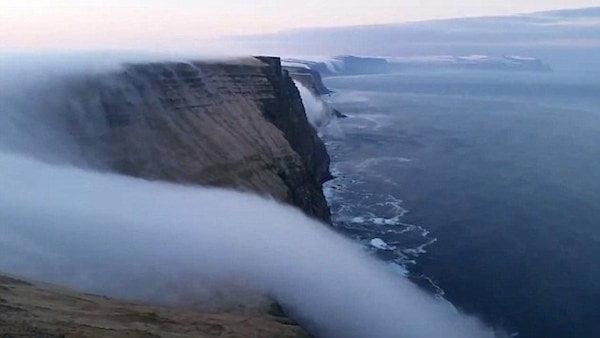 Fog Waterfall, Djupadal, Iceland, Hindi, Information, Jankari, History, Story, Itihas,