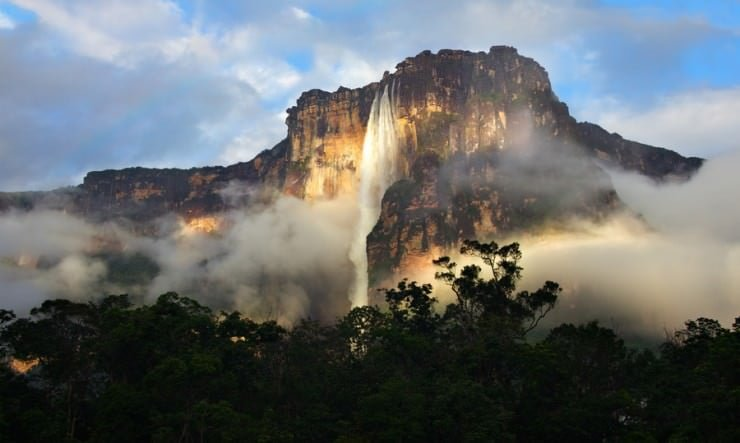 Angel Waterfall, Venezuela,  Hindi, Information, Jankari, History, Story, Itihas,