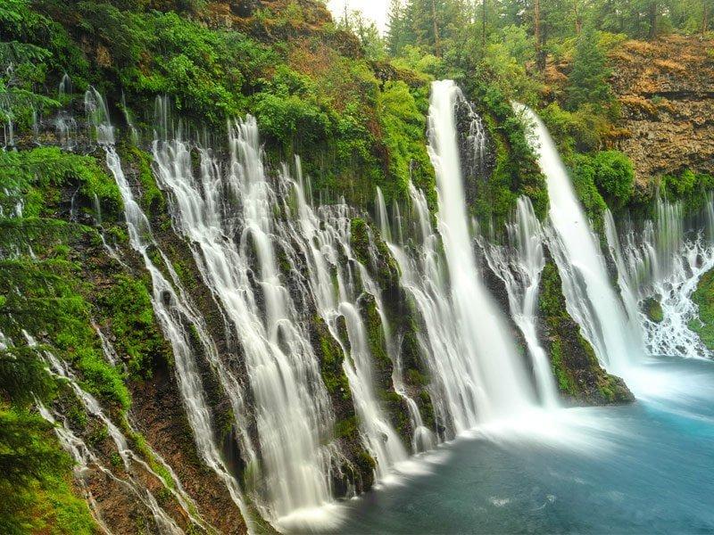 Burney Waterfall, California,  Hindi, Information, Jankari, History, Story, Itihas,