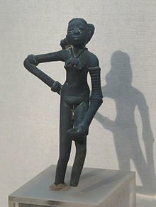 Dancing girl Mohenjodaro