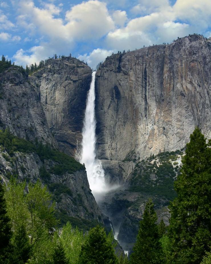 Yosemite Waterfall, USA,  Hindi, Information, Jankari, History, Story, Itihas,