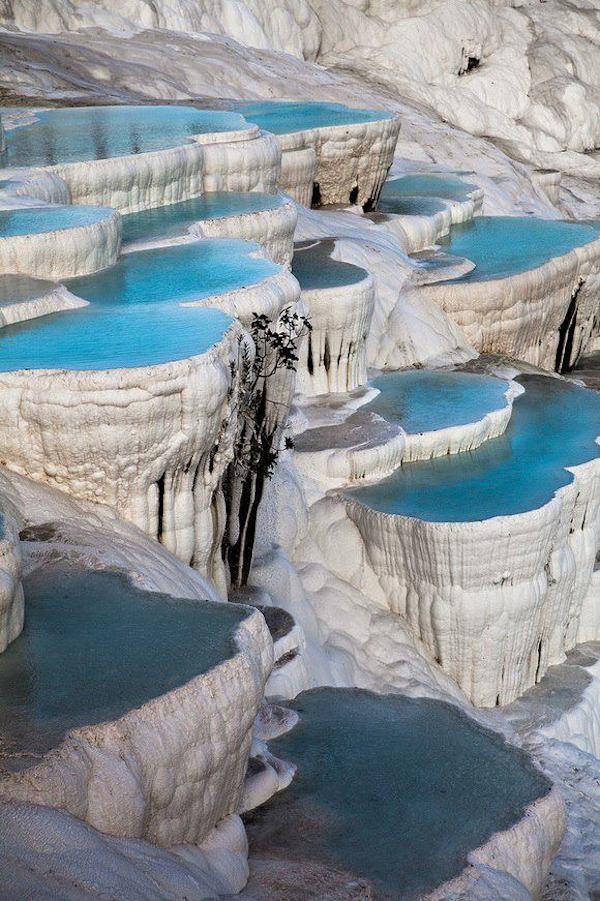Pamukkale Waterfall, Denizli Province, Turkey, Hindi, Information, Jankari, History, Story, Itihas,