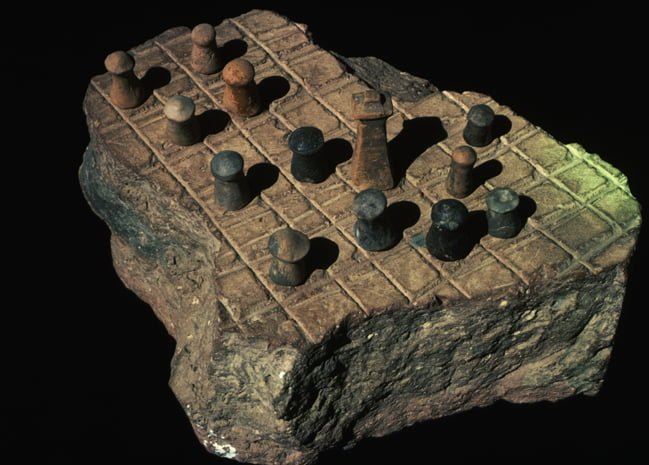 Mohanjo Daro,  Chess Board
