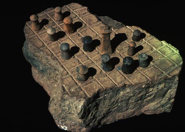 Mohanjo Daro,  Chess Board
