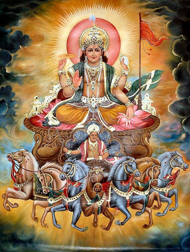 12 Form of Surya Dev (Aditya), Hindi, Story, Kahani, Katha, Information,