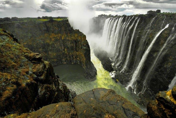Victoria Waterfall, Zimbabwe,  Hindi, Information, Jankari, History, Story, Itihas,