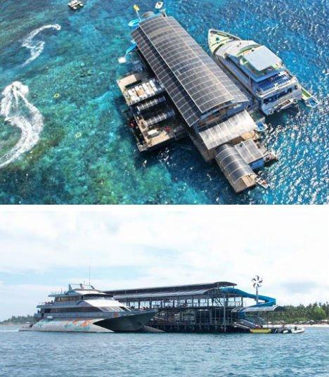 Nusa Penida Island Floating Restaurant, Indonesia,Hindi, Information, Janakri, Story, History,
