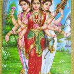 लक्ष्मी, सरस्वती और गंगा का परस्पर श्राप देना