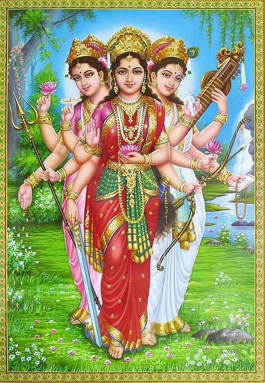Lakshmi, Saraswati, Ganga Ka Ek Dusre Ko Shrap Dena, Hindi, Story, Kahani, Katha,