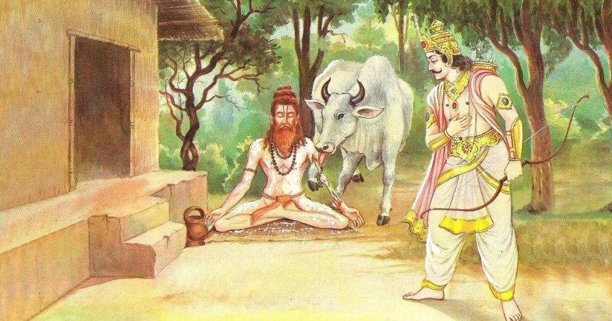 Maharishi Dadhichi Story in Hindi, Kahani, Katha, Maharishi Dadhichi ka Asthi Daan,