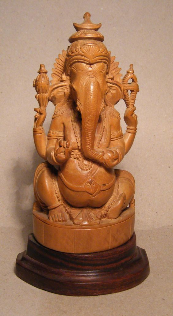 Sandal Wood Ganesha, Chandan ke ganesh, Lord Ganesha Idol Benefits, Hindi, Fayde,