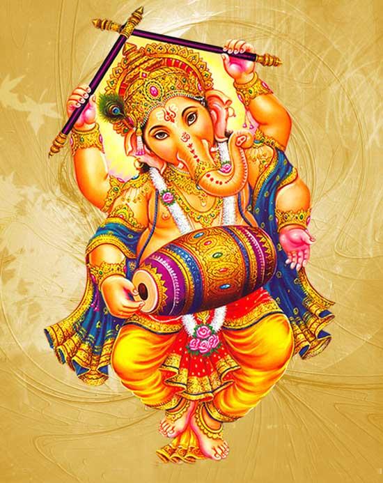 Dancing Ganesha, Nachte hue Ganesh, Lord Ganesha Idol Benefits, Hindi, Fayde,