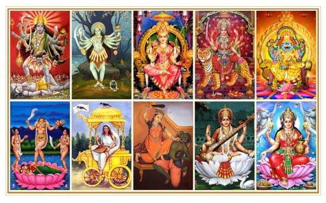 Dus Mahavidya, Sadhana, Benefits, Hindi, Mantra, Labh,