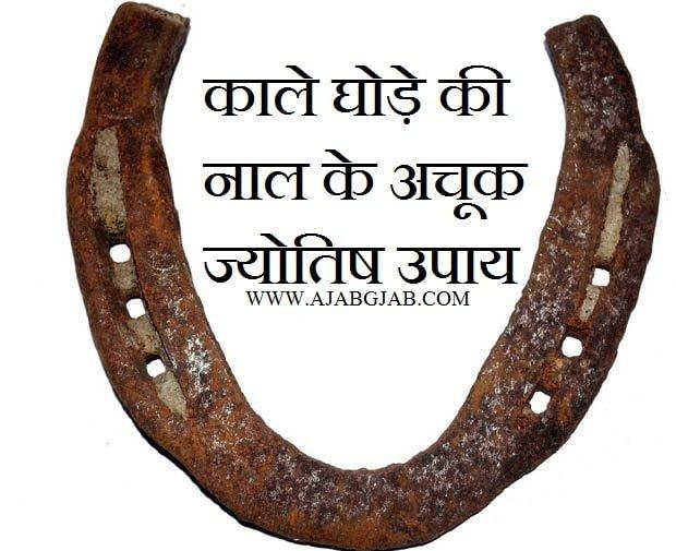 Kaale Ghode Ki Naal Ke Jyotish Upay