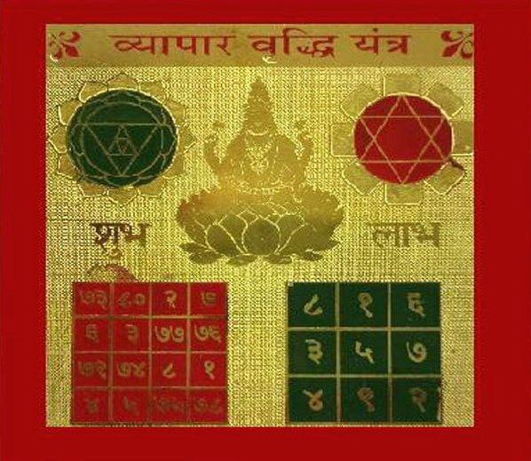 Vyapar Vridhi Yantra, Hindi, Mantra,