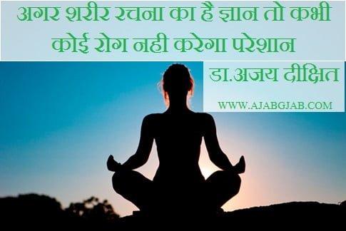 Manav Sharir ki Sanrachna in Hindi, Sharir Rachna Vigyan,