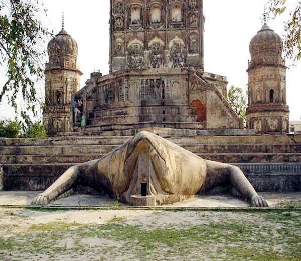Frog Temple Lakhimpur Kheri Uttar Pradesh Hindi Information Story History