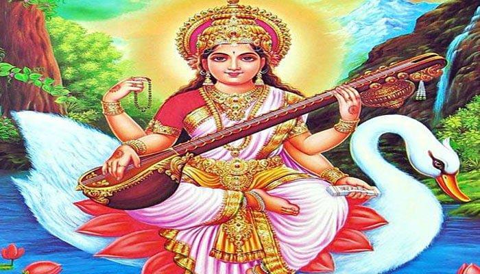 Goddess Saraswati Devi And Hansa , Hindi, Story, Kahani,