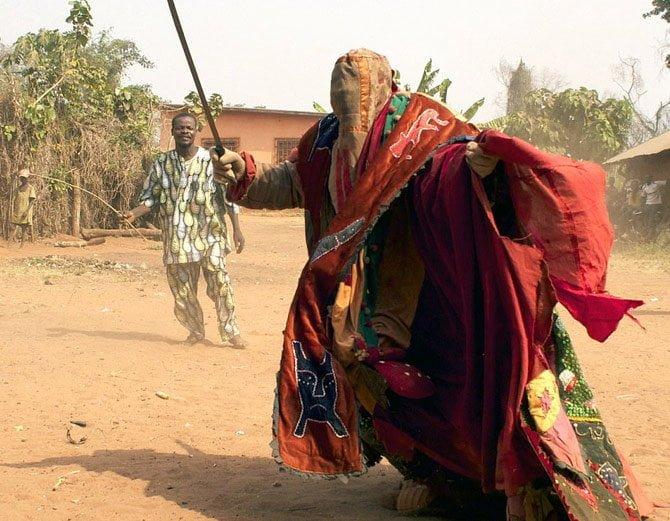 Egungun - These Called Living Ghosts, Secret Society Of Benin, South Africa, Hindi, Information, Jankari, History, Stroy, Kahani,