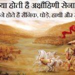 जानिए क्या होती है अक्षौहिणी सेना, कितने होते है सैनिक, घोड़े, हाथी और रथ