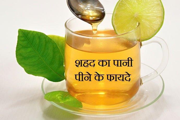 Health Benefits Of Honey Water in Hindi