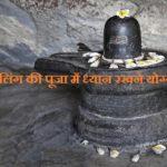 शिवलिंग की पूजा में ध्यान रखने योग्य बातें | Worship of Shivling