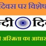 Hindi Diwas | हिंदी दिवस पर विशेष लेख- देश की अस्मिता का आधार है हिंदी