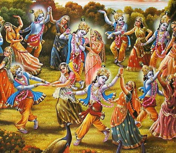 Maharaas on Sharad Purnima