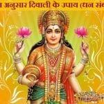 Rashi Anusar Diwali Ke Upay | राशि अनुसार दिवाली के उपाय (धन संबंधी)