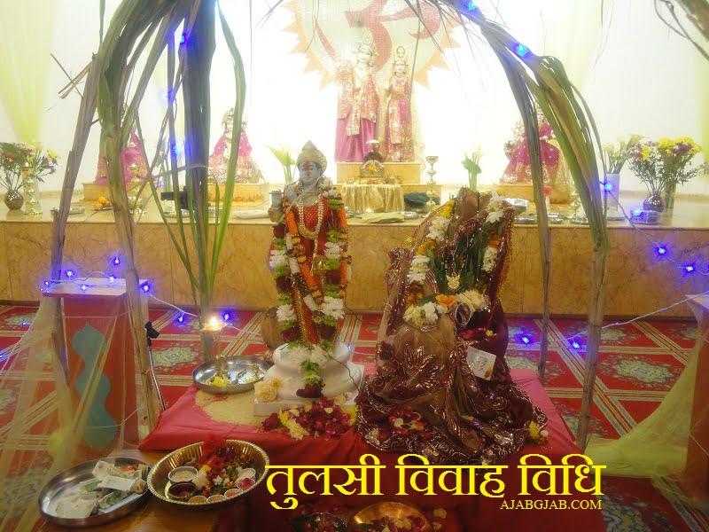Tulsi Vivah Vidhi