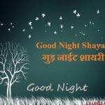 Good Night Shayari | गुड़ नाईट शायरी