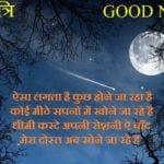 शुभ रात्रि शुभकामना सन्देश | Good Night Wishes In Hindi
