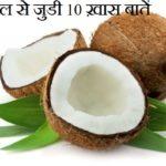 नारियल से जुडी 10 ख़ास बातें