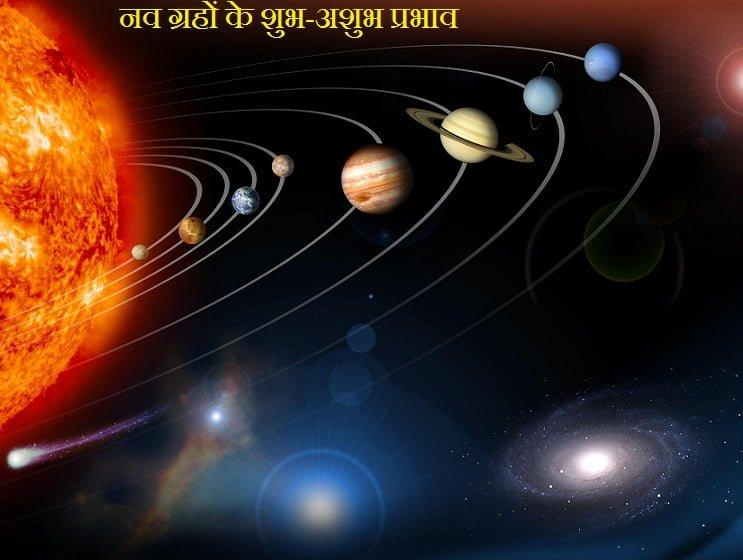 Nav Grahon Ke Shubh Ashubh Prabhav