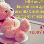 Teddy Bear Day Shayari in Hindi