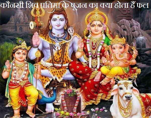 Kaunsi Shiv Pratima Ke Pujan Ka Kya Hota Hai Phal
