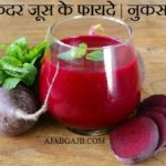 Benefits Of Chukandar Juice In Hindi