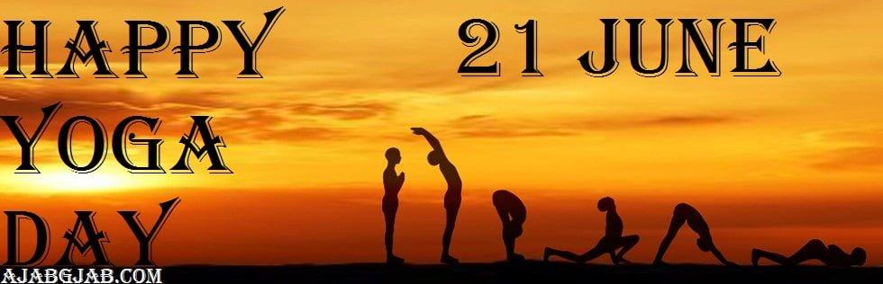 Happy Yoga Day HD Wallpaper
