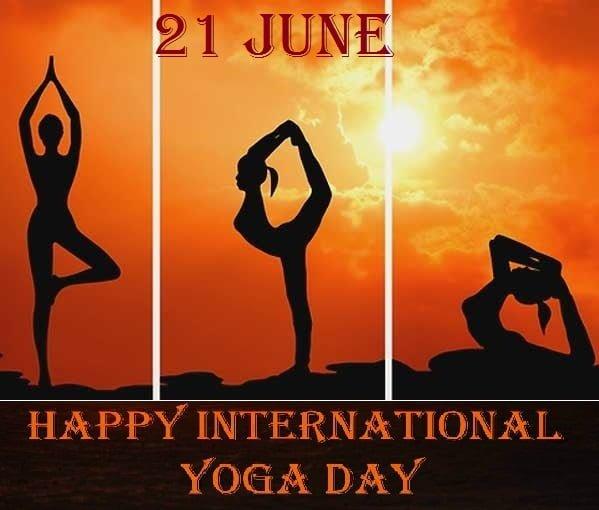 Happy Yoga Day Photoes