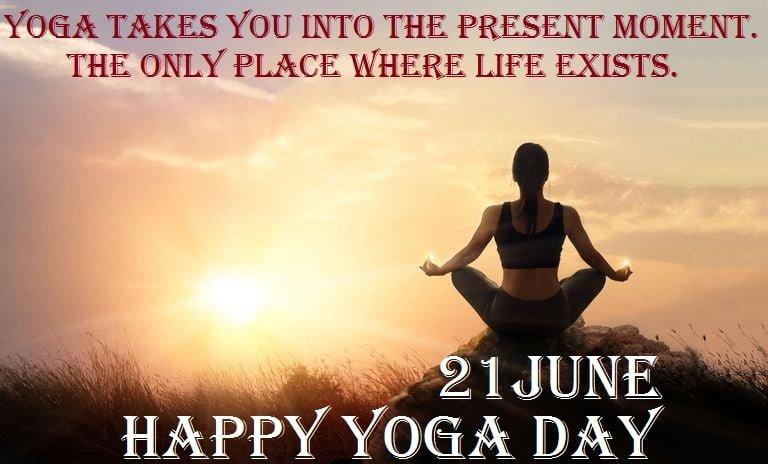 International Yoga Day HD Wallpaper