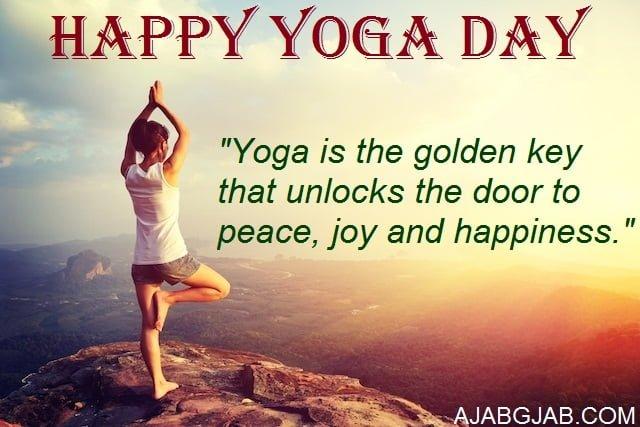 Yoga Day Wallpaper