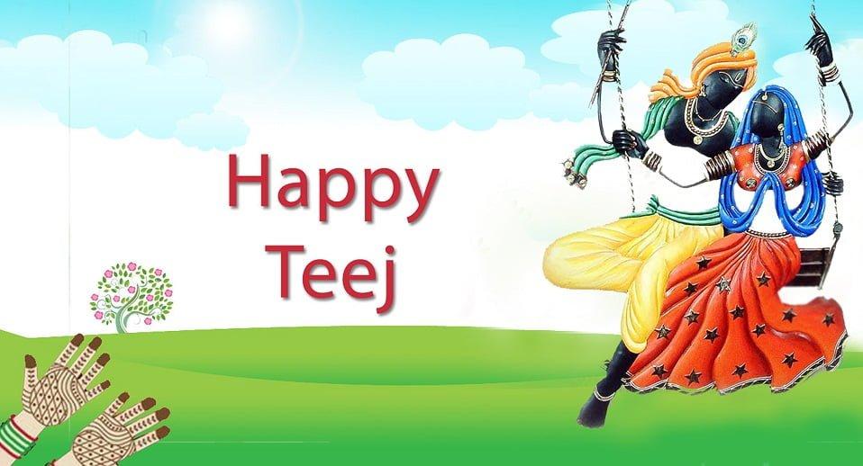 Happy Teej HD Wallpaper Images