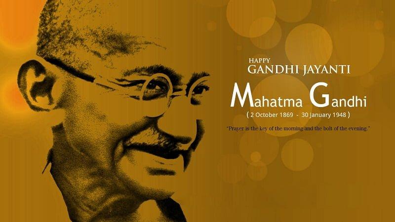 Happy Gandhi Jayanti 2019 Hd Gif For WhatsApp