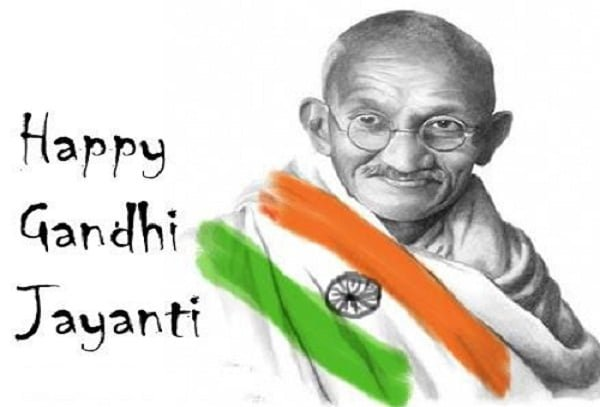 Happy Gandhi Jayanti Pictures