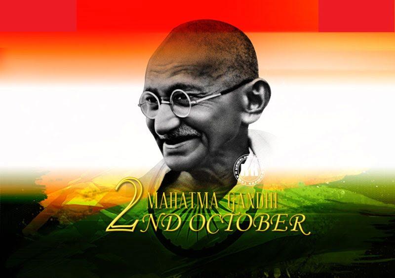 Happy Gandhi Jayanti Wallpaper