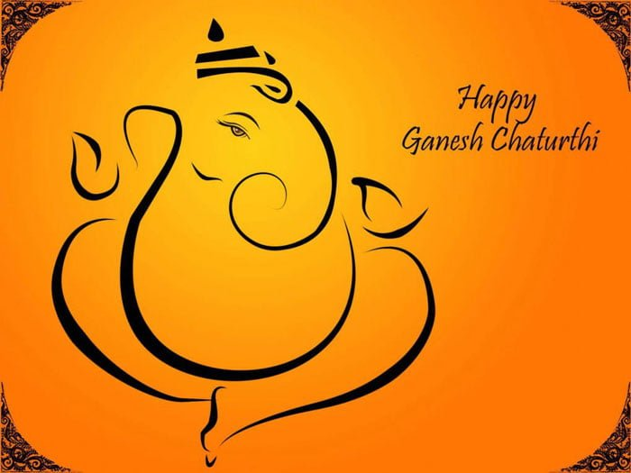 Happy Ganesh Chaturthi 2019 Hd Greeting For Whatsapp