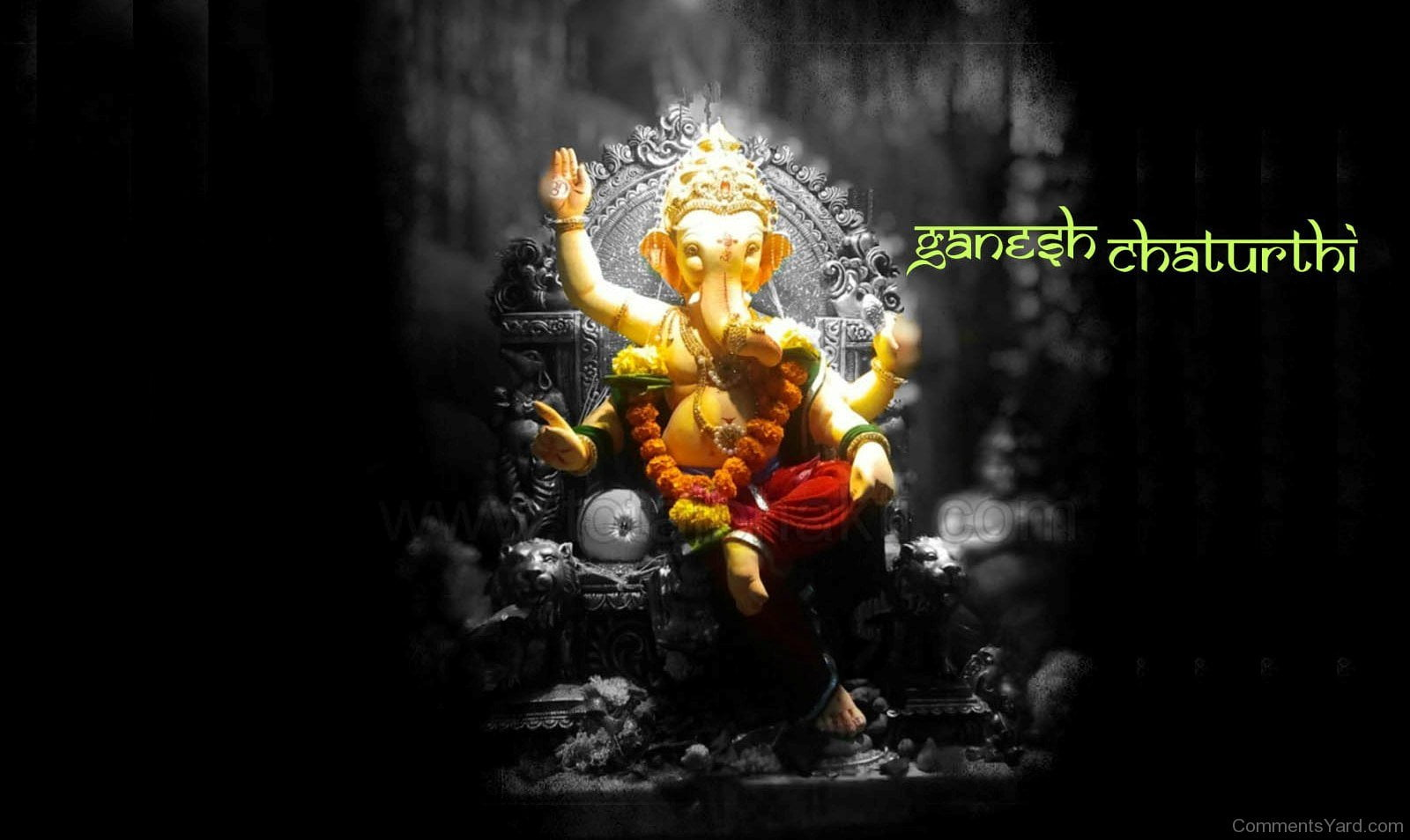 Happy Ganesh Chaturthi HD Pictures