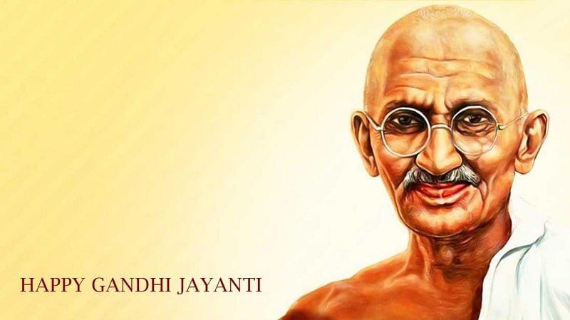 Happy Mahatma Gandhi Jayanti HD Photos