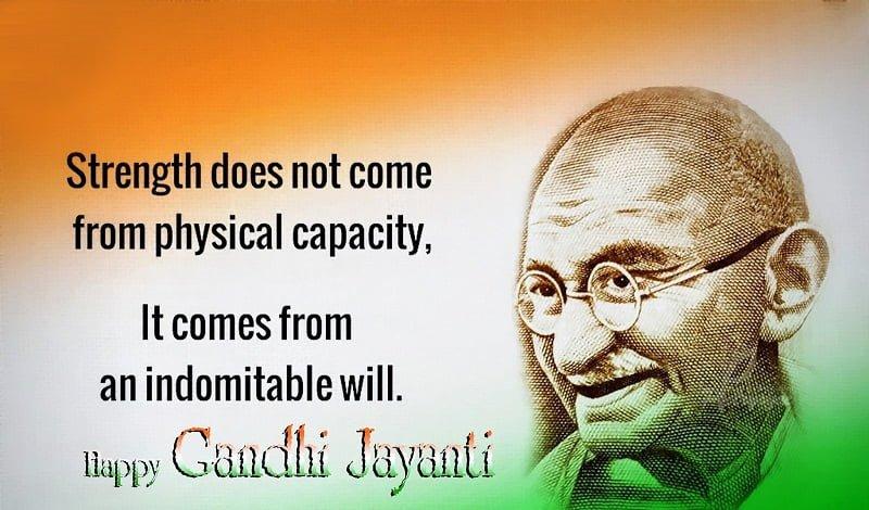 Happy Gandhi Jayanti 2019 Hd Wallpaper For Mobile