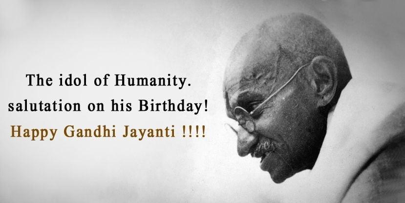 Happy Mahatma Gandhi Jayanti Photos